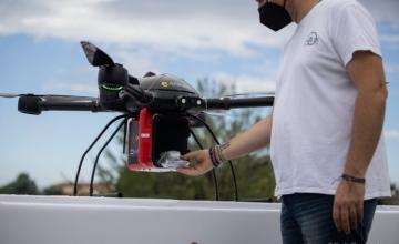 Πρωτοπορία Τρίκαλα: Πρώτη πανευρωπαϊκή πτήση drone για μεταφορά και παράδοση φαρμάκων