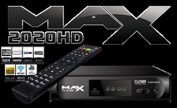 ΝΕΟΣ MAX T2 H.265 DVB-T2 HEVC MPEG4 FULL HD TERRESTRIAL!