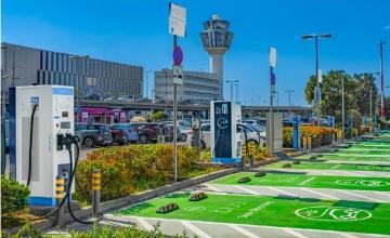 Ηλεκτροκίνηση – Τον μεγαλύτερο σταθμό φόρτισης στην Ελλάδα απέκτησε το «Ελ. Βενιζέλος»